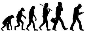 Evolution progression, regression